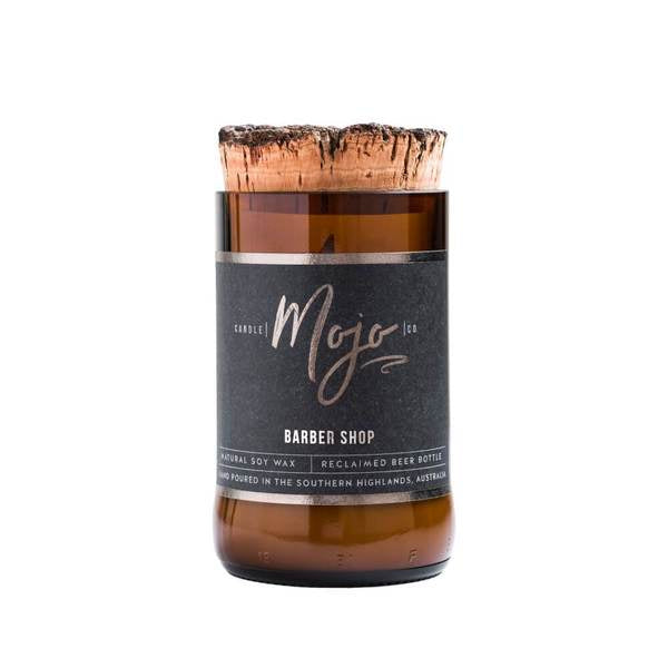 Candle MOJO Co. Natural Soy Wax Candle - Barber Shop