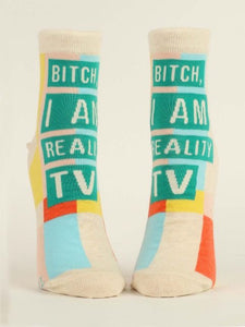 Bitch I Am Reality TV Socks