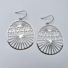 Load image into Gallery viewer, Super Cali Earrings in Silver