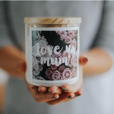 Love Ya Mum – Large Commonfolk Collective Candle