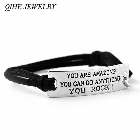 YOU ARE AMAZING YOU CAN DO ANYTHING YOU ROCK! - Motivational Women's Jewelry