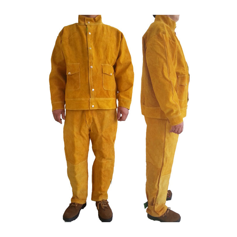 Cow Hide Safety Welding Suit - Firefly Products
