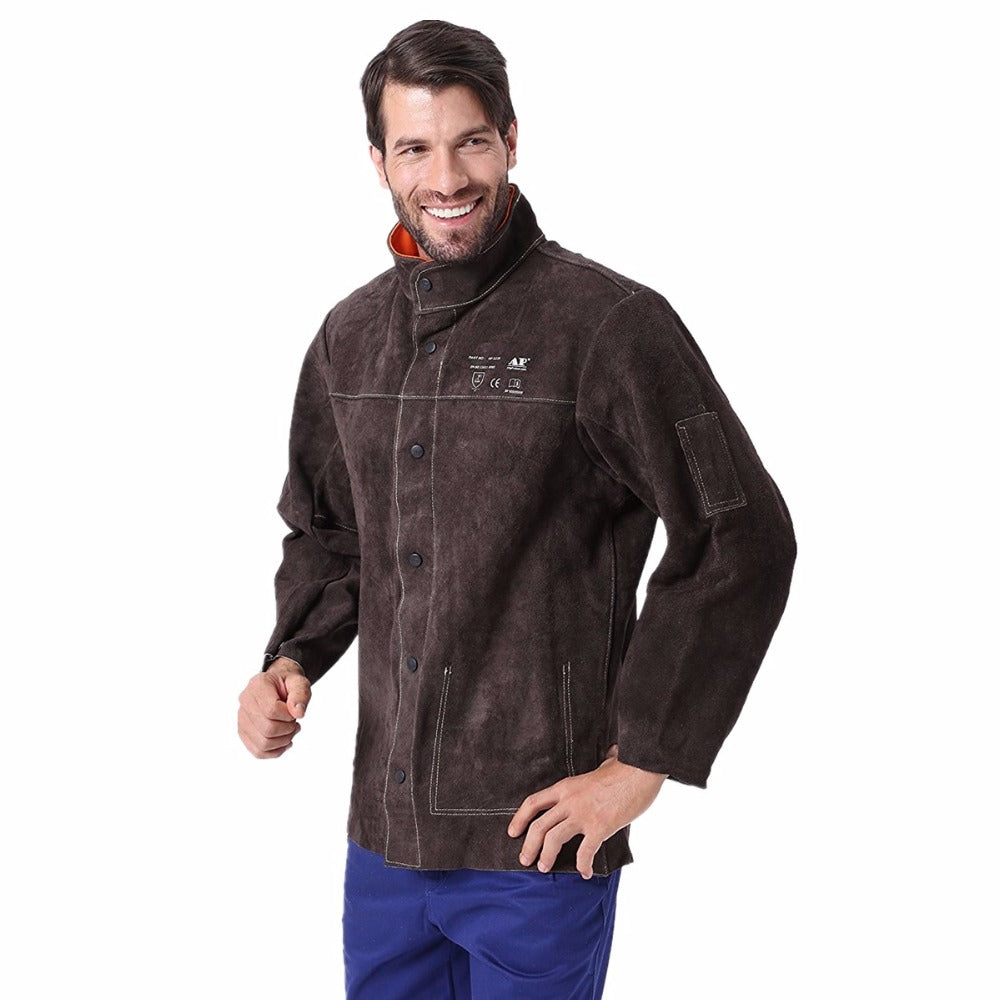 Leather Welding Jacket - Firefly Products