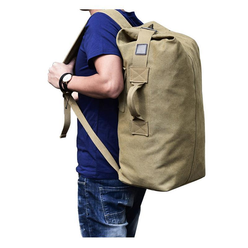 Tactical Canvas Backpack