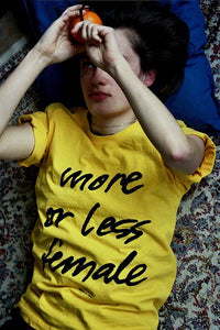 T-shirt  More Or Less Female –SPRING EDITION!