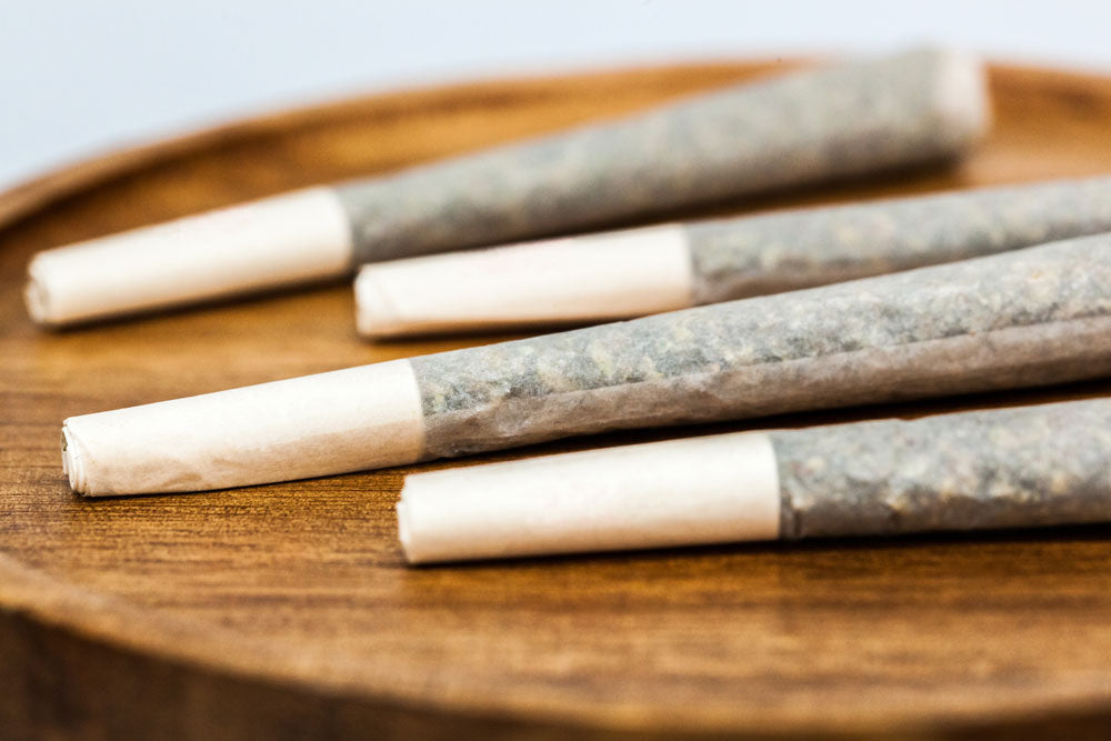 how to store CBD pre rolls joints