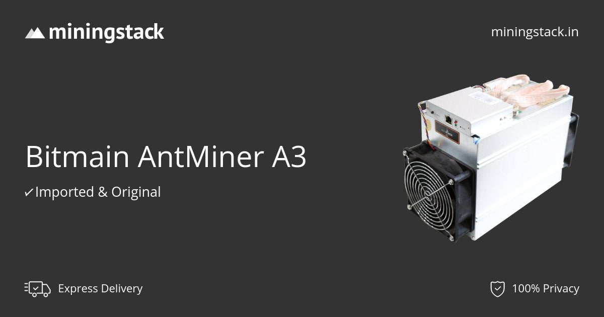 A3 miner price