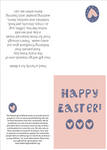 Easter Card Foodbank Donation Gift