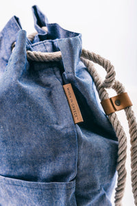 Everyday BackPack - Denim