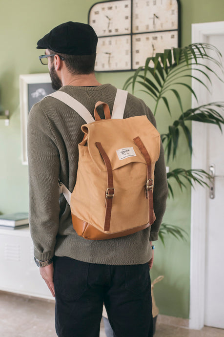 Explorer Backpack - Mustard