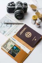 Load image into Gallery viewer, Leather Passport Case