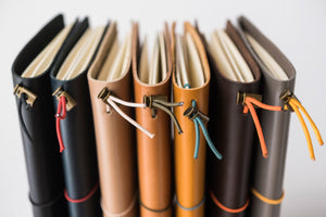 Leather Journal - Passport Size