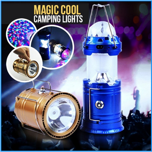 MAGIC COOL CAMPING LIGHTS