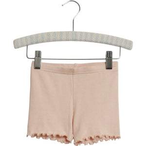Organic cotton rib shorts