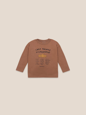 Lost thing recollector long sleeve T-shirt