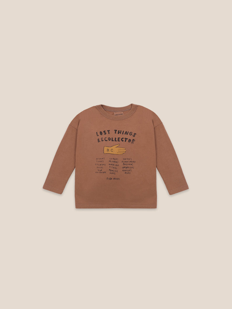 [40%OFF]Lost thing recollector long sleeve T-shirt