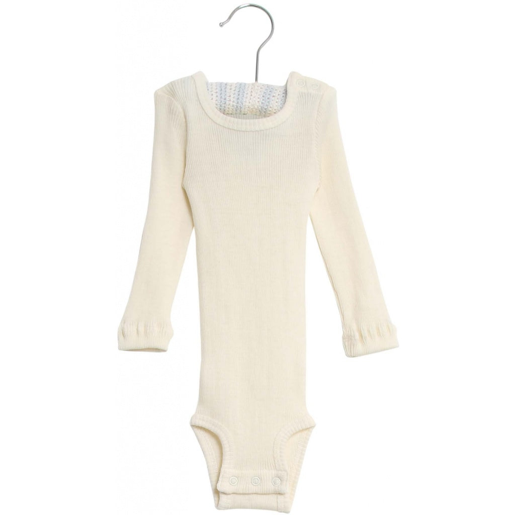 [50%OFF] Body wool rib Eggshell