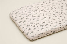 드 이미지 갤러리로 뷰어,Bluebell Muslin Fitted Sheet Adult SE