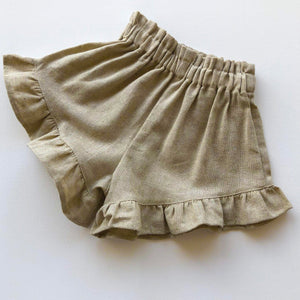 Butterfly shorts-Natural