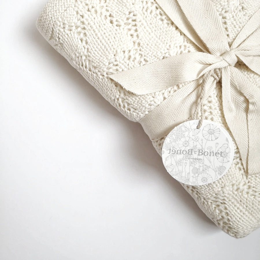 Organic cotton shell blanket