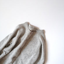 Load image into Gallery viewer, Organic cotton knit cardigan Maja-Light grey