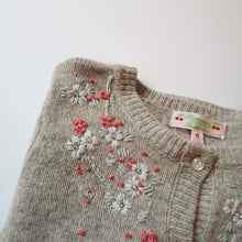 Load image into Gallery viewer, Wool cardigan 6A
