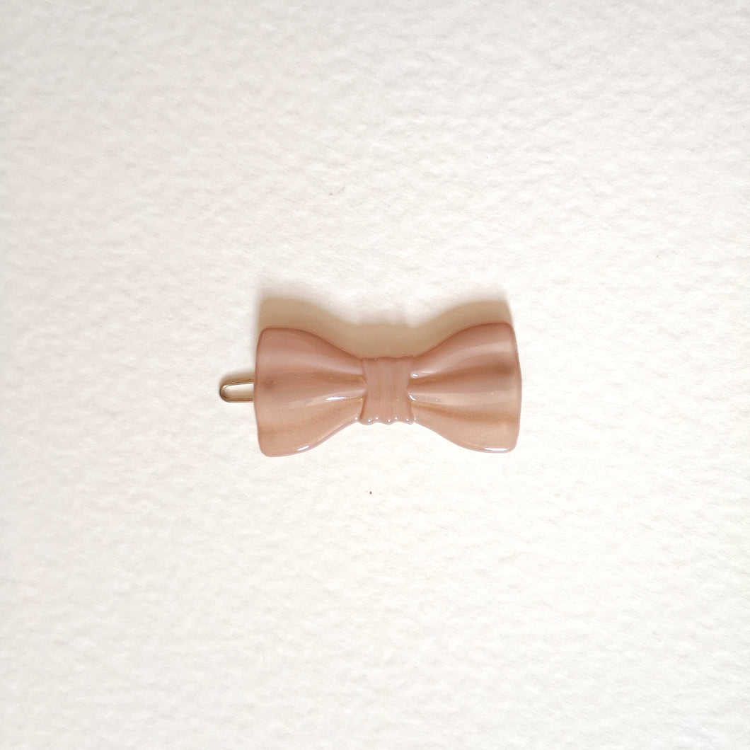 Small bow clip-Pink