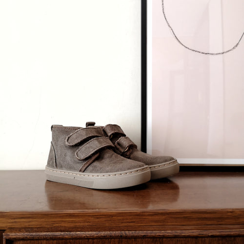 (End of October shipping) DOBLE VELCRO SUEDE WOOL