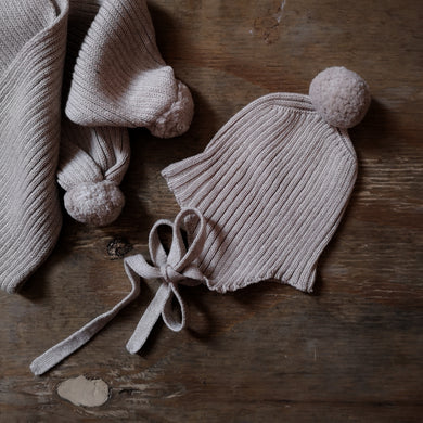 Baby set (Scarf&hat)