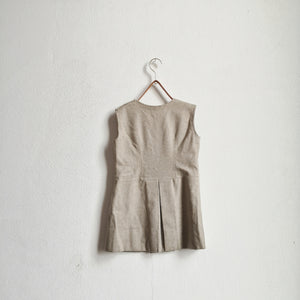 [Unworn]  VINTAGE Wool dress 4Y  (dead stock)