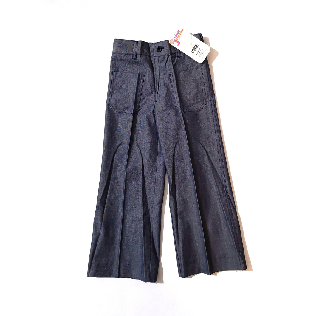 [Unworn] VINTAGE denim pants 6Y (dead stock)