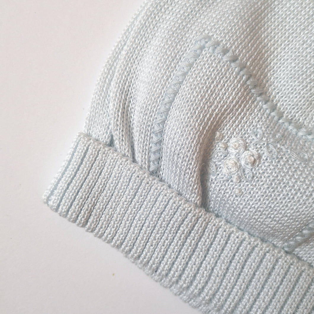 [50%OFF] Hand embroidered cotton knit hat
