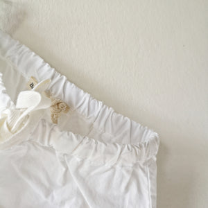 Basic pants white