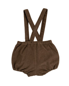 Hastings Bloomer Romper Nut velvet