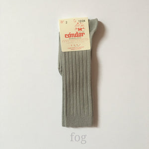 [30%OFF] Ribbed high socks