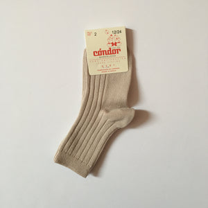 [30%OFF] Ribbed short socks