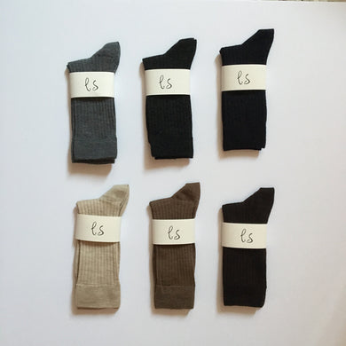 Extrafine merino wool socks (ladies)