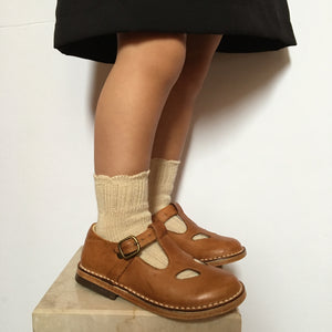 Wool short socks