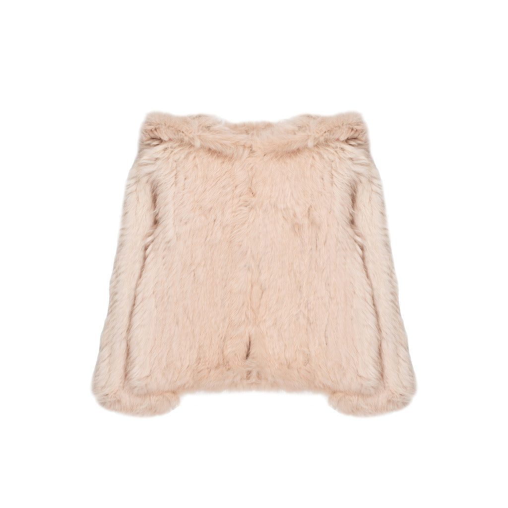 [50%OFF] Rabbit fur jacket
