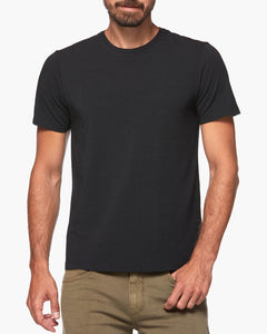 Cash Crew Neck Tee - Black