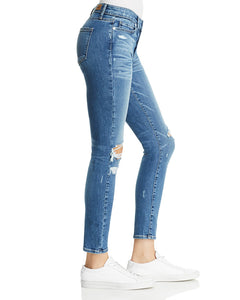 Verdugo Ankle Skinny Jeans in Embarcadero Destructed