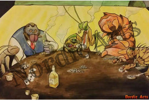 Original Artists - Bugs Playing Poker