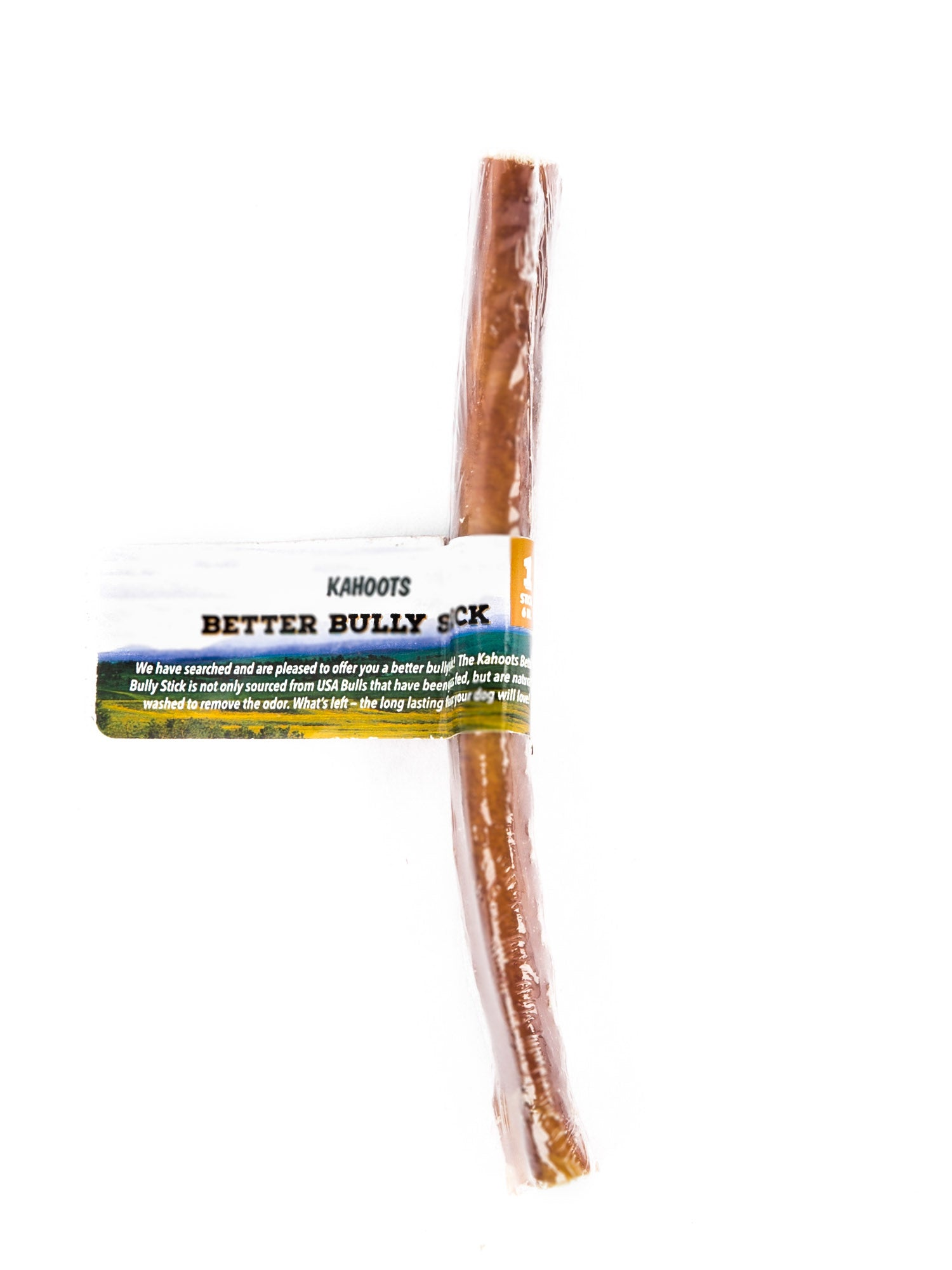 A single 6 inch bully stick