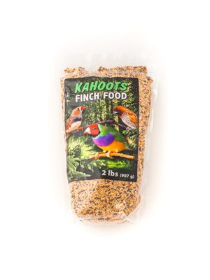 Finch food in bag, mixed seeds