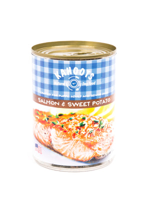Grain Free Salmon & Sweet Potato Pâté
