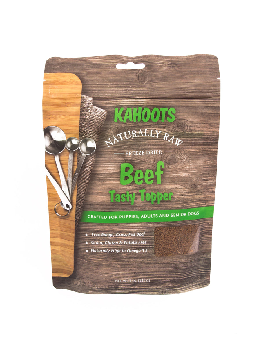 Freeze-dried Raw Tasty Topper Beef