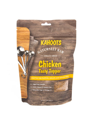 Freeze-dried Raw Tasty Topper Chicken