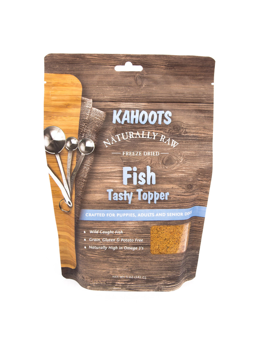Freeze-dried Raw Tasty Topper Fish