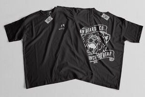 Bizr Designs Man Beard Co. Punch the Bear Tee