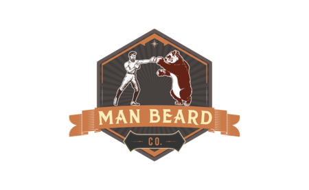 Man Beard Co logo